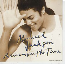 Michael Jackson 9 track cd single Remember The Time / Black Or White 1991