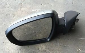 2014 Kia Forte Left Driver Side Outer Power Mirror Gray OEM