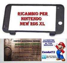 COVER CASE SCOCCA SUPERIORE RICAMBIO NINTENDO NEW 2DS XL COLORE NERO 2DSXL SHELL
