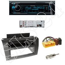 Kenwood KDC-300UV Radio + Mazda 3(BK)  1-DIN Blende schwarz + ISO Adapter Set