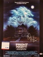 "Chris Sarandon signed Fright Night 16x20 Photo #1 ""Jerry"" Autograph~ PSA/DNA COA"