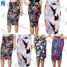 Viscose Wiggle, Pencil Floral Dresses for Women