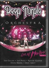 DVD ALL ZONES--DEEP PURPLE WITH ORCHESTRA--LIVE AT MONTREUX 2011