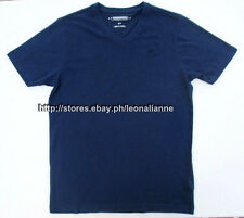 55% OFF! AUTH AEROPOSTALE MEN'S V-NECK A87 NAVY BASIC TEE SMALL BNEW US$12.99