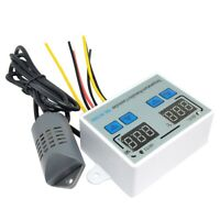 XK-W1099 Termostato Digitale Doppio Umidostato Incubatrice per Uova Tempera C3T4