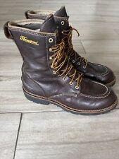 """Thorogood Men Size 11 W Waterproof Hunting 8"""" Flyway Boots Made in USA 814-4141"""