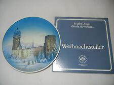 Rosenthal Piatto natale 1983 Cattedrale da Wittenberg + ORIGINALE (int.Nr. 83-7)