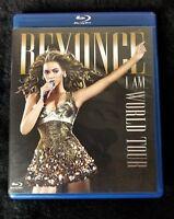 Video DVD - BEYONCE I Am World Tour - BluRay DVD - Like New (LN) WORLDWIDE