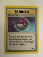 PK00439 - Master Ball - 116/132 - Gym Challenge - Uncommon