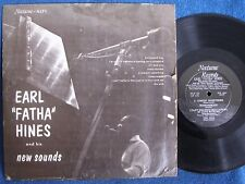 "Earl Fatha Hines & His New Sounds/DG 10"" LP/Nocturne NLP 5/Vinyl is EX to M-"