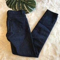 J Brand Jeans Eclipse Dark Wash Skinny Slim Stretch Womens Denim Size 27