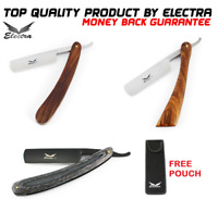 BARBER JAPANESE STEEL STRAIGHT EDGE CUT THROAT SALON SHAVING RAZOR BLADE RAZORS