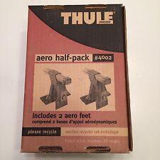 Thule Aero Half-Pack #4002 Aero Feet Never Used UPC 091021400276 Dated July 2002