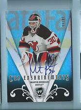 MARTIN BRODEUR 2007/08 THE CUP ENSHRINEMENTS SIGNATURE AUTOGRAPH AUTO /50