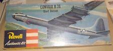 """PRE-""""S"""" 1954 (1st REL) REVELL CONVAIR B-36 GIANT BOMBER SML PARTS SEALED + BONUS"""