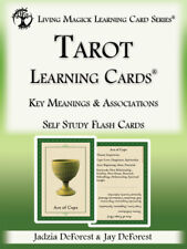 Tarot Learning Cards - Living Magick Learning Cards - Self Study Flash Cards