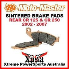 Moto-Master Rear Motorcycle Brake Pads