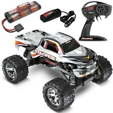 Traxxas 36054-1 Stampede XL-5 2WD RTR RC Truck w/Battery & Quick Charger SILVER