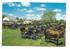 Waterloo County KITCHENER ONTARIO Mennonite Meeting House - horses / buggies