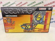 Geomag Mechanics Magnetic Construction Set 724. 164 Pieces NEW Box Tatty