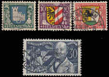Switzerland #B53-56 Used