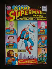 Superman Annual #3 Vg+ Fortress Of Solitude