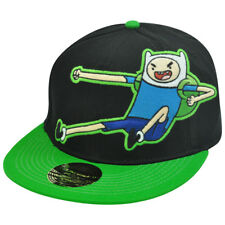 Cartoon Network Adventure Time Finn Kick One Size Flex Fit Flat Bill Hat Cap