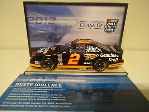 RUSTY WALLACE 1994 ACTION #2 MILLER GENUINE DRAFT NHOF FORD /1,476 MADE XRARE!