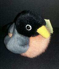 American Robin Audubon Birds With Real Call Plush Stuffed Animal Wild Republic