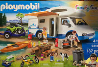 NEW PLAYMOBIL FAMILY FUN CAMPING ADVENTURE SET 9318