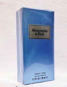 1 Abercrombie & Fitch FIRST INSTINCT For Her BLUE Eau De Perfume Spray 1.7 oz