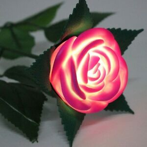 LED Light Up Rose -- 6 Colors to Choose From