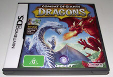 Dragons Combat of Giants Nintendo DS 2DS 3DS Game *Complete*