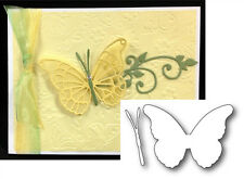 Asti Butterfly Wings Thin Metal Die Cut - Memory Box Dies 98876 Animals,insects