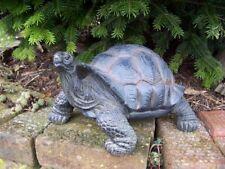 Gartenfigur Schildkröte groß NEU Dekofigur Gartendeko Tierfigur Landschildkröte