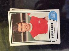 m17c4 trade card 1960s abc a&bc football no 55 bobby gould