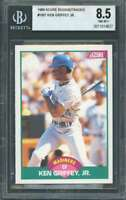 1989 score rookie/traded #100t KEN GRIFFEY JR seattle mariners rookie BGS 8.5