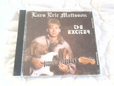LARS ERIC MATTSSON THE EXCITER CD FINLAND HEAVY METAL GUITAR ROCK LEVIATHAN