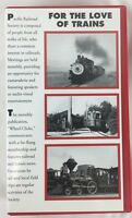 """""""For The Love Of Trains"""" (VHS 1999) The Pacific Railroad Society 1936-1961"""
