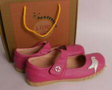 NIB Livie and Luca size 4 Pio Pio pink bird Mary Janes shoes
