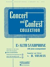 Concert and Contest Collection for Eb Alto Saxophone Piano Accompanime 004471700