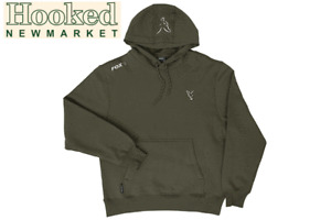 Fox Collection Green & Silver Hoody ***ALL SIZES** -Same Day Dispatch