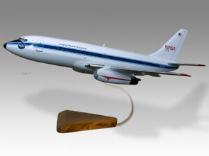 Boeing 737-200 NASA Langley Research Center Solid Wood Handmade Desktop Model