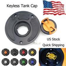 CNC Fuel Tank Gas Cap Cover For Kawasaki ZX-6R 2007-2015
