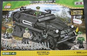 COBI 2551 Sd.Kfz.251/1 Ausf. A  Limited Edition Neu in OVP