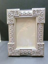 4 x 6 Silver Ornate Easel Back Picture Frame