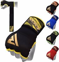 RDX MMA Boxing Quick Hand Wraps Inner Bandages Gloves Protector MuayThai Stretch