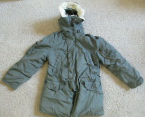 Vintage US Military Extreme Cold Weather Olive Parka Type N-3B - Multiple Sizes