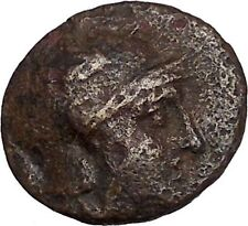 KINGS of PERGAMON Attalos I 240BC Ancient Greek Coin Athena Asclepius i42824