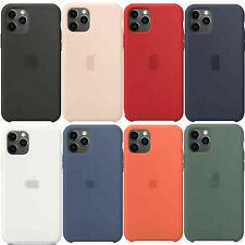 Original Silicone Case For Apple IPhone 11 Pro Max 11Pro Genuine OEM Back Cover